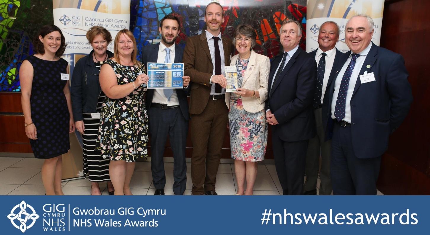 NHS Wales Award